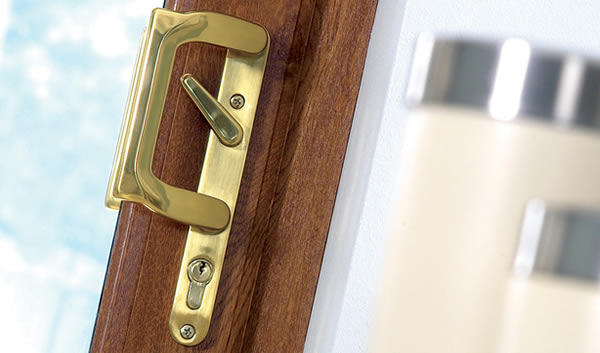 Secure French Doors