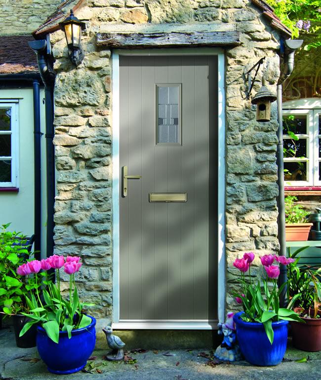 Twin Rebate Composite Door