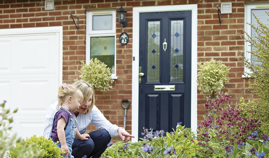 Composite vs uPVC Doors? Why both come up on top