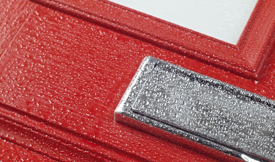 How to clean composite doors